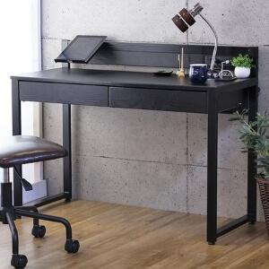 オフィスデスク ブラック