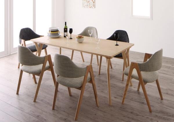 北欧デザインダイニングテーブル【OLELO】オレロ