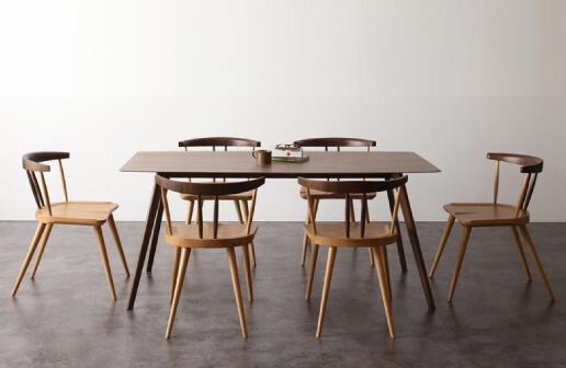 アンティーク調ウィンザーチェアダイニングテーブル【Tradisal】トラディサル
