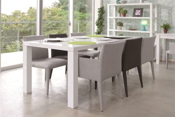 180cm ダイニングテーブル ホワイト