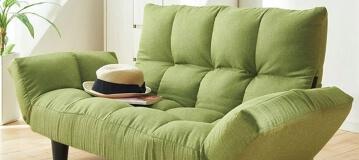 ふっくらリクライニングソファー