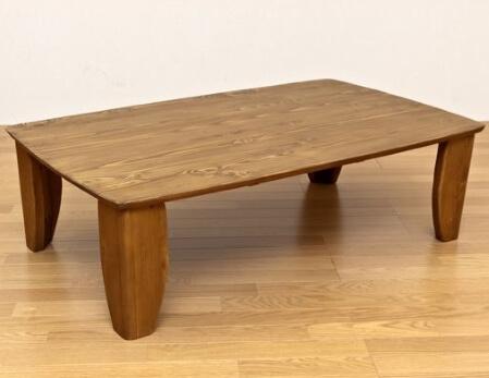 浮造りテーブル