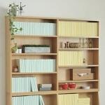 万能家具 ナチュラルカラーの本棚