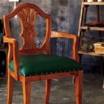 アンティーク調のチェア椅子