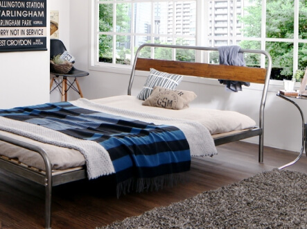 スチールすのこベッド Diperess ディペレス