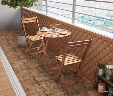 ガーデンテーブル・チェア【Cyrielle】シリエル 丸テーブル