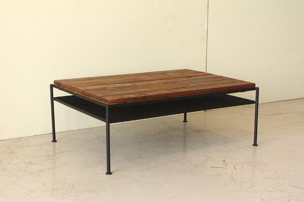 古木風ローテーブル