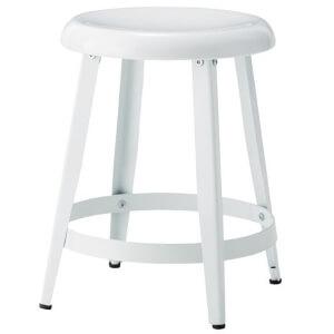 スチールスツール丸椅子 ホワイト