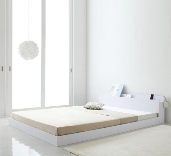 白いベッド【IDEAL】アイディール