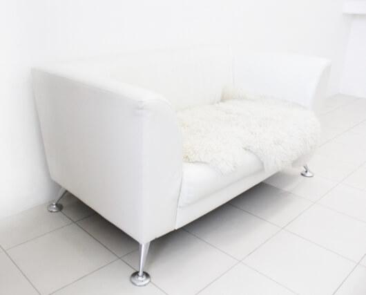 白い家具のインテリア