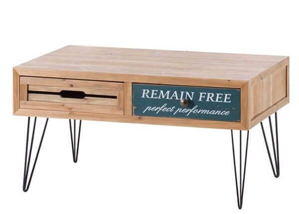 ロゴ入りローテーブル
