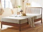 ウィンザー調天然木すのこベッド