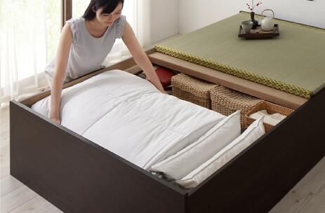 畳ベッド【大容量収納】悠華ユハナ