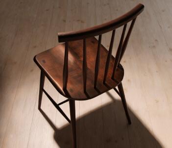 タモ無垢材ダイニングテーブル【Suven】スーヴェン ブラウンチェア