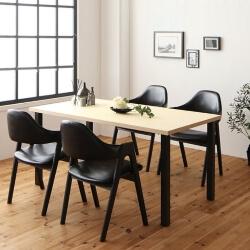 ブラックチェアダイニングテーブル