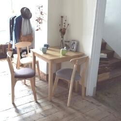 カフェスタイルダイニングテーブル