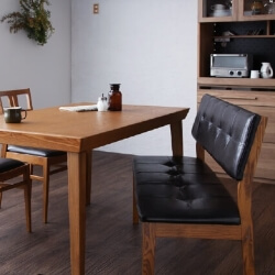 ヴィンテージデザインダイニングテーブル・ベンチ【LEWIS】ルイス