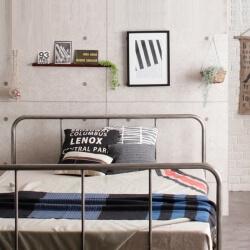 男前スチールすのこベッド