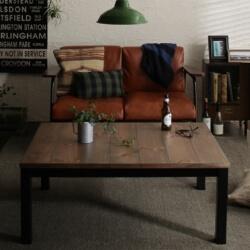 古木風ヴィンテージデザインこたつテーブル Nostalwood ノスタルウッド