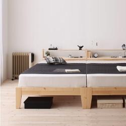 二人暮らしベッド