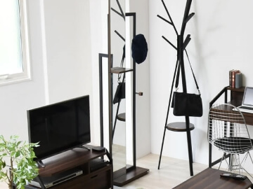 Ritaシリーズ家具 ブラック