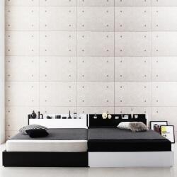 二人暮らしのベッド