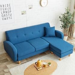 ブルーのソファ