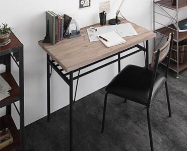 90×60テーブルを壁に付けたレイアウト