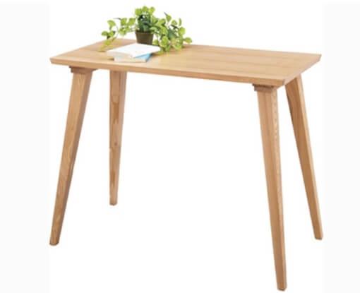 シンプル木製デスク