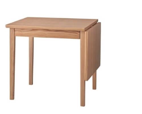 伸縮ダイニングテーブル アッシュナチュラル