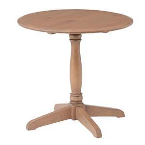 木製ラウンドテーブル
