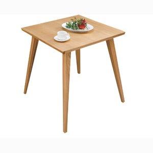 一人暮らしのダイニングテーブル 天然木65cm
