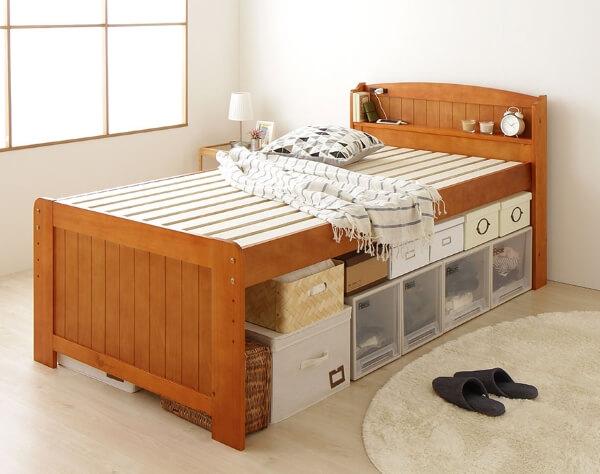 収納ベッド『lahairu』ラハイル ナチュラル