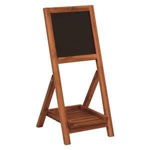 黒板付き木製スタンド30×68cm