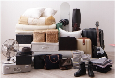 収納付きベッドに収納できるアイテム量