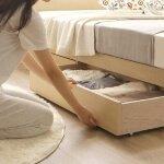 一人暮らしのおすすめの収納付きシングルベッド