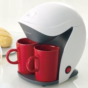 コンパクトコーヒーメーカー グランカフェデュオ ホワイト