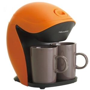 コンパクトコーヒーメーカー グランカフェデュオ オレンジ