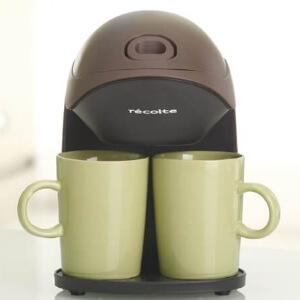 コンパクトコーヒーメーカー グランカフェデュオ ブラウン