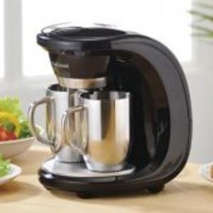 ステンレス製マグカップ2個付コーヒーメーカー