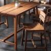 西海岸インテリアのおしゃれなダイニングテーブル