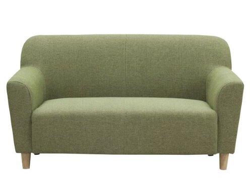 グリーンのソファ エルフ