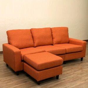 オレンジのソファ【NEW MONTELO】