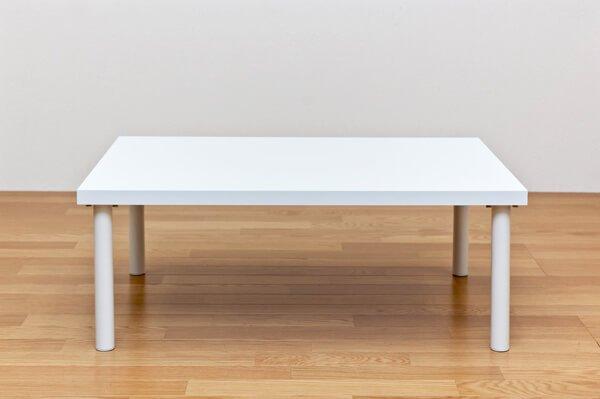 フリーローテーブル ホワイト90×60cm