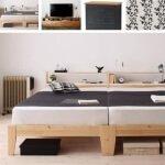 ベッドルームのコーディネート