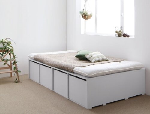 大容量収納ベッドSemperセンペール