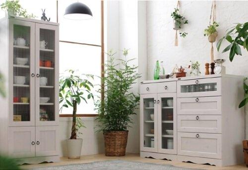 キッチン収納シリーズBotanicalボタニカル ホワイト