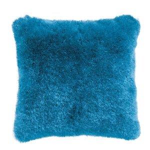 シャギークッション ブルー