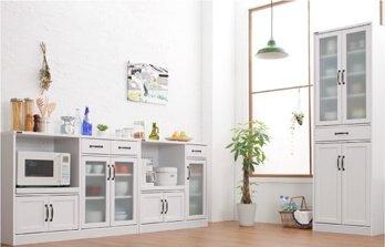 キッチン収納シリーズAnneアンネ ホワイト