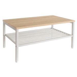 リビングテーブル スチール脚